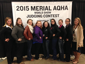 William Woods equestrian students judging team wins Nationals