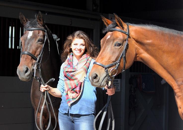 William Woods equestrian alumna Bailey McCallum